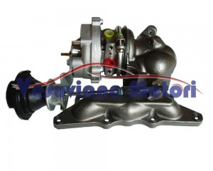 TURBOCOMPRESSORE TURBO 724961-5004S SMART 600 RIGENERATO